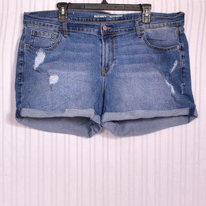 Old Navy Distressed Boyfriend Jean Shorts